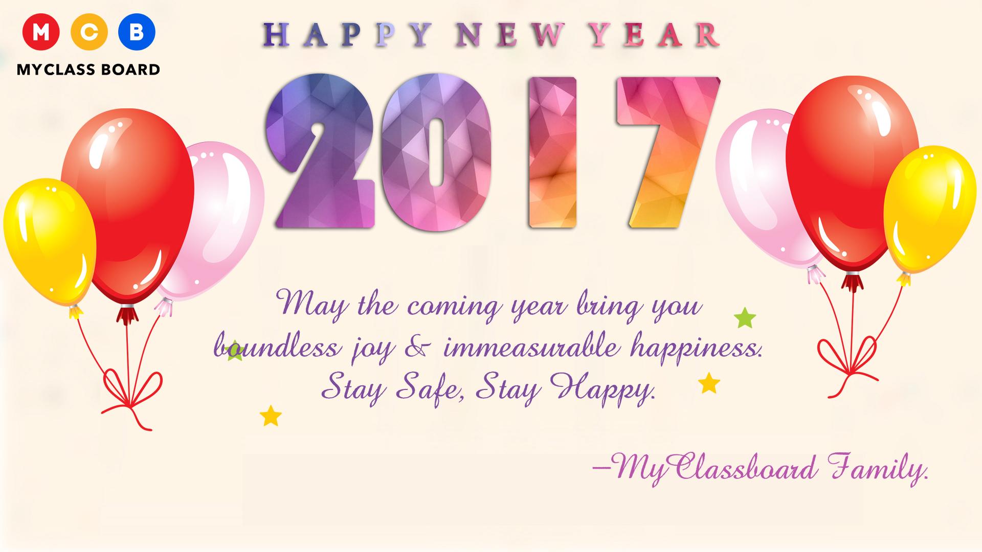 New Year Celebrations !