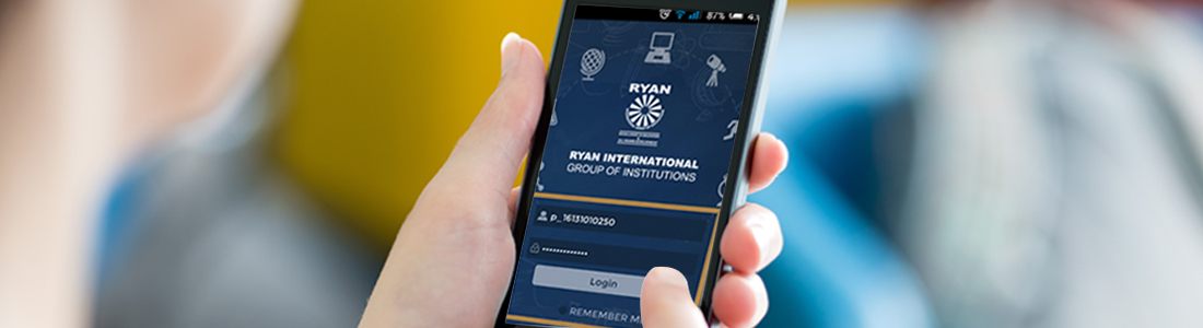 How Student Mobile App Works in Ryan Schools