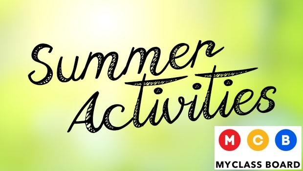 10 Activities for this Summer Break