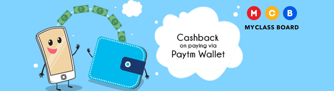How Parents pay School Fees in MyClassboard using Paytm Wallet?