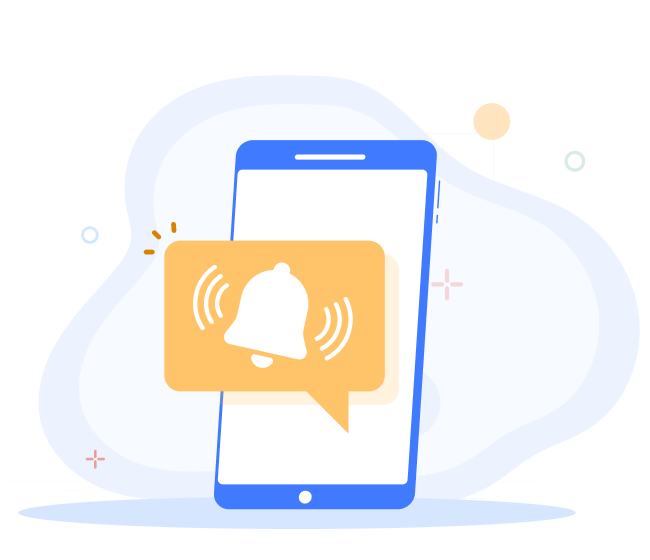 Mobile app notification