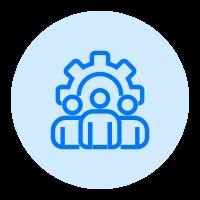Manage visitors icon
