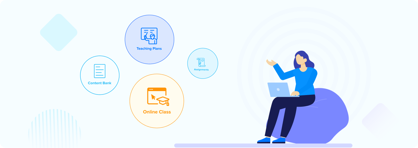 Primary LMS features for schools